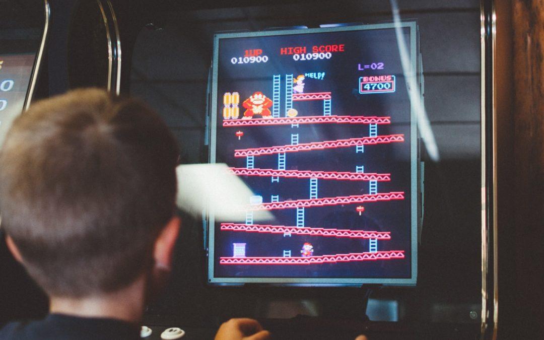 Finding leadership in video games